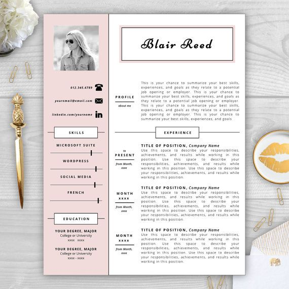 9 best Monogram Resume Templates images on Pinterest Resume - awesome resumes templates