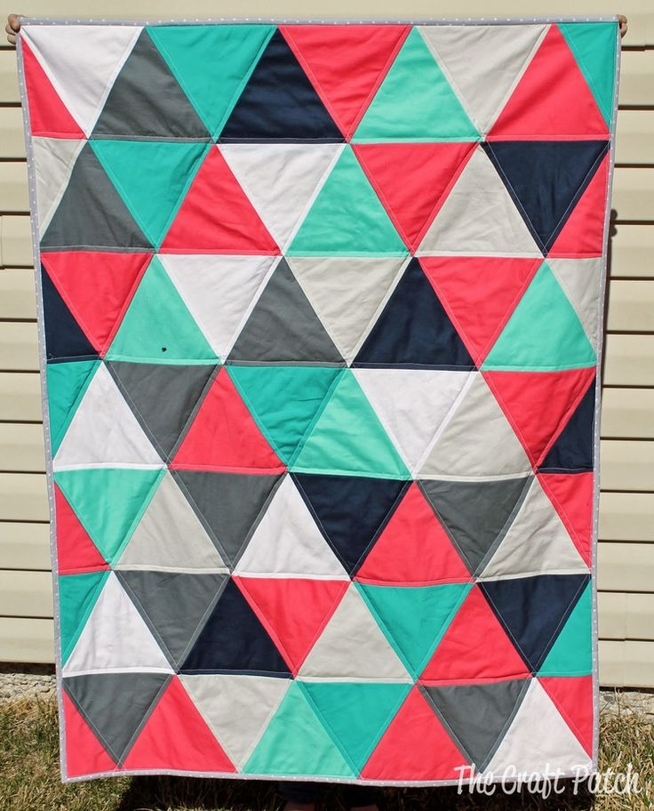 Best 25+ Triangle quilts ideas on Pinterest | Triangle quilt ... : putting a quilt together - Adamdwight.com