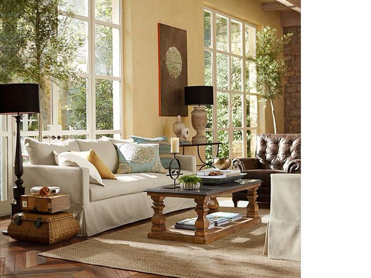 Pottery Barn Living Room261 best Nature Inspired Design images on Pinterest   Living room  . Living Room Decorating Ideas 2014. Home Design Ideas