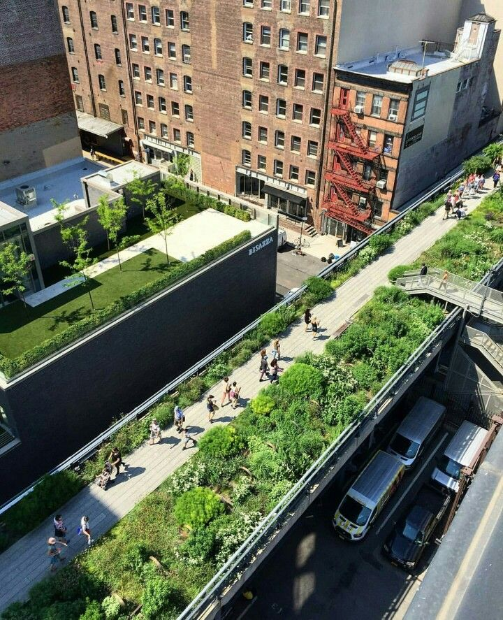 Built in 2009, High Line Park is a 1.45 mile long New York City linear park built on a historic freight line elevated above the streets on Manhattan's West Side.  It runs from Gansevoort Street in the Meatpacking District to West 34th Street, between 10th and 12th Avenues. One of the many gems hidden within New York City.  Make sure to take a stroll here next time you're visiting!