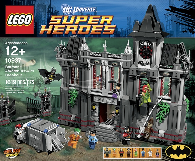LEGO DC Universe Batman: Arkham Asylum Breakout (10937)    Read more: http://www.thebrickfan.com/lego-dc-universe-batman-arkham-asylum-breakout-10937-revealed/