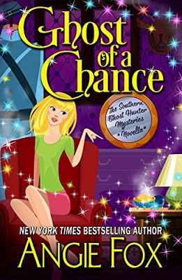 Book Readers Heaven: Ghost of a Chance, a Novella, is Next in Ghost Hunter Mysteries Series