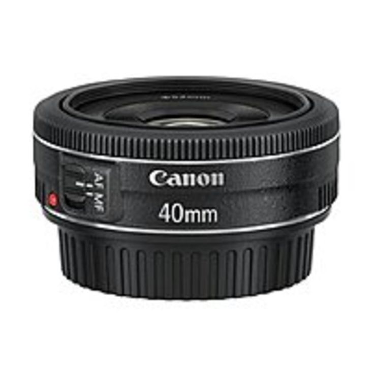 Canon EF 6310B002 40 mm F/2.8 STM Telephoto Lens for Canon DSLR Cameras