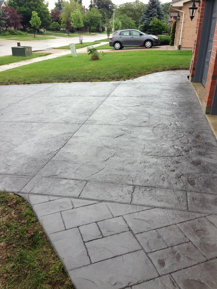 Ashlar Slate Stamped Concrete Pictures Roman Ashlar Slate