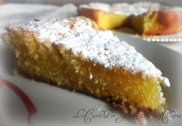 Torta al limone semplice | Ricetta dolce #italianfood