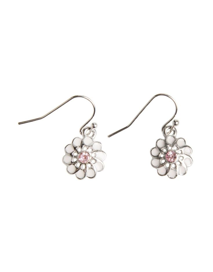 For mom- Daisy Drop Earrings - www.woolworths.co.za