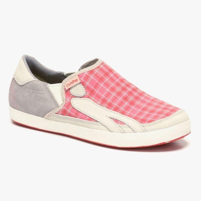 Duke Plaid Slip-On in Pink (CUSHE2 1057838)