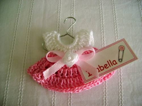 Recuerdos para baby shower crochet - Imagui
