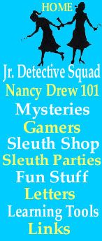 Nancy Drew & the Clue Crew PARTY. (tucking this idea away)...