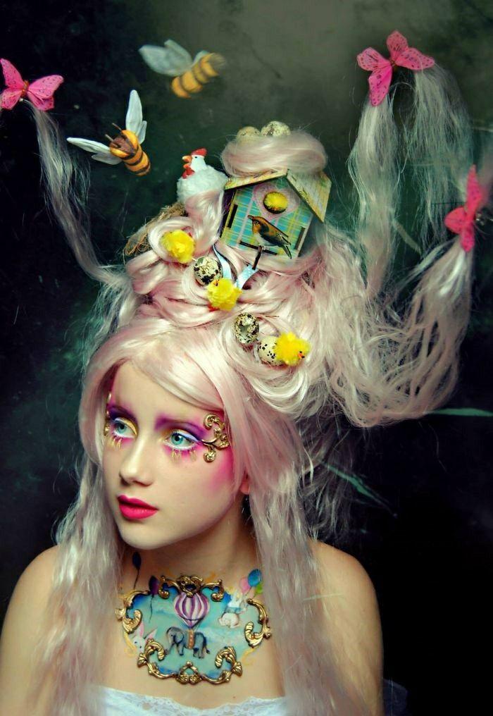Fairytale Halloween make-up ideas