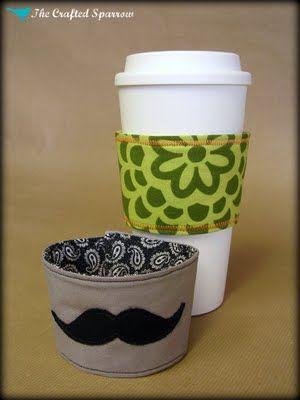 Coffee Cozy's - crazy cute
