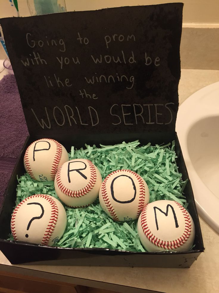 97 best promposals images on pinterest prom ideas proposal my baseball players idea of a promposal ccuart Gallery