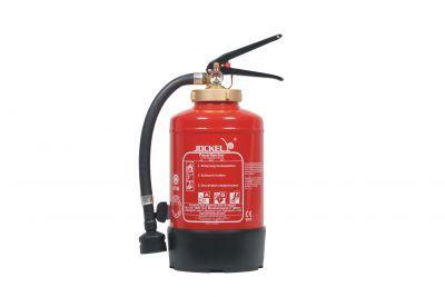 Bei Fettbränden NIEMALS Wasser verwenden ! Fettbrandfeuerlöscher geprüft und zugelassen für die Brandklasse F (#Fettbrände)bei Feuerking.com - #Fettbrandfeuerlöscher für Gewerbe und Privat