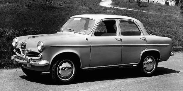 1955 Alfa Romeo Giulietta Berlina Alfaromeogiulietta Alfa Romeo