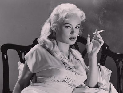 "Mamie Van Doren of ""Guns, Girls and Gangsters"" 1959"