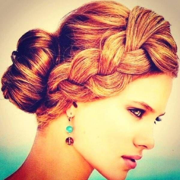 Acconciature glamour capelli lunghi lisci (Foto) | Bellezza pourfemme