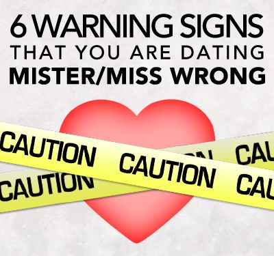 5 warning signs in a dating relationship