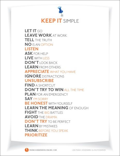 Minters, how have you been simplifying your spending? Here are 24 ways to help simplify the rest of life.