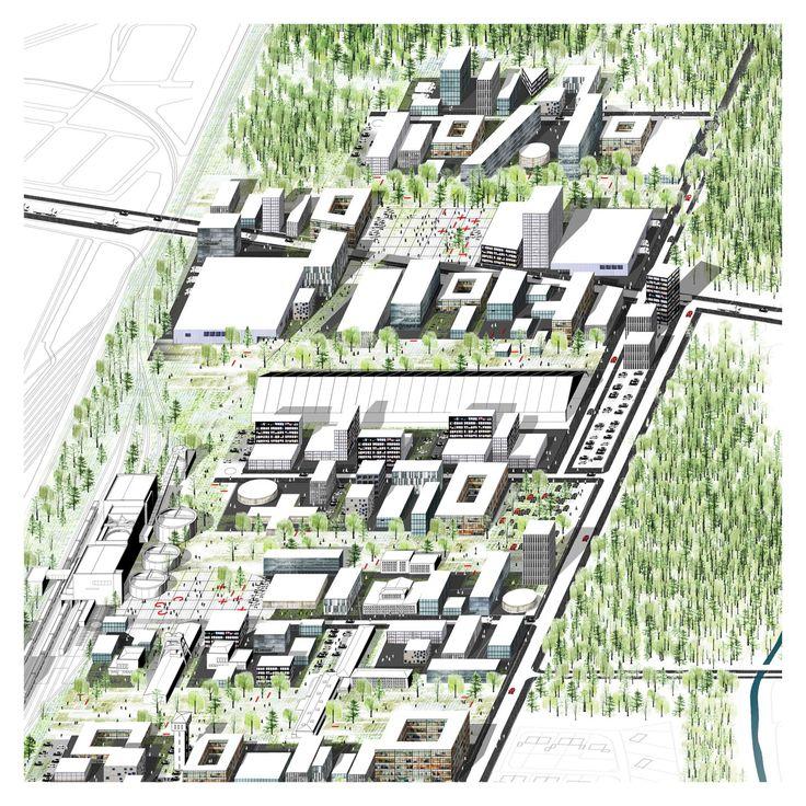 JPAM Architecture & Urban Design, AMADO MARTÍN PADILLA, Samuel Llovet, Luis Bellera, Daniel Burston · The Spine - Auguste Victoria Mine 3/7   E13 Special Mention · Divisare