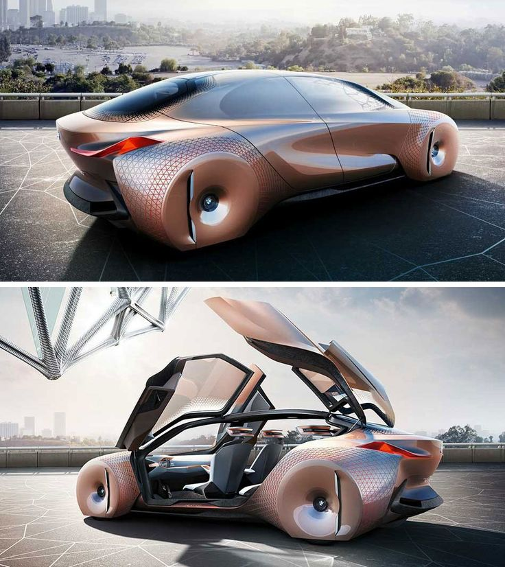 BMW has unveiled a stunning concept car called the Vision Vehicle that looks as futuristic as its name suggests