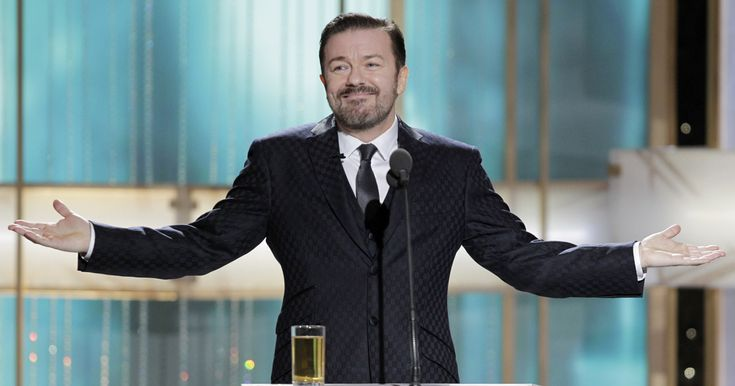 """""""At the moment, there's something in the news every day that makes me go, 'I wish I was doing the Globes tonight,' """" Ricky Gervais tells PEOPLE's Editor-in-Chief Jess …"""