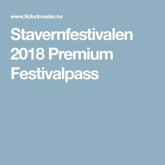 Stavernfestivalen 2018 Premium Festivalpass