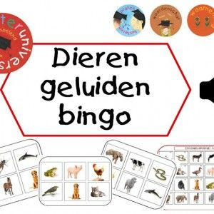 Deze set bestaat uit 32 bingokaarten (pdf), 1 controle pagina (pdf) en 24 dierengeluidenfragmenten (.wav). Voorbereiding: Print alle kaart...