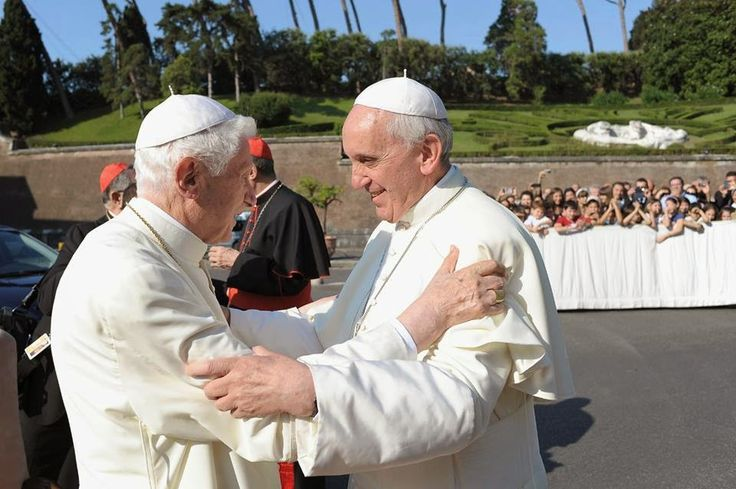 Joseph Aloisius Ratzinger was born on 16 April, Holy Saturday, 1927, in Marktl, Bavaria, Germany. He was baptised the same day.  Benedict XVI is now Pope Emeritus of the Catholic Church. He was Pope from 2005 to 2013. Benedict XVI was elected on 19 April 2005 after the death of Pope John Paul II. He was ordained as a priest in 1951 in Bavaria, Germany. Benedict XVI currently lives in the Residence Mater Ecclesiae Monastery in the Vatican
