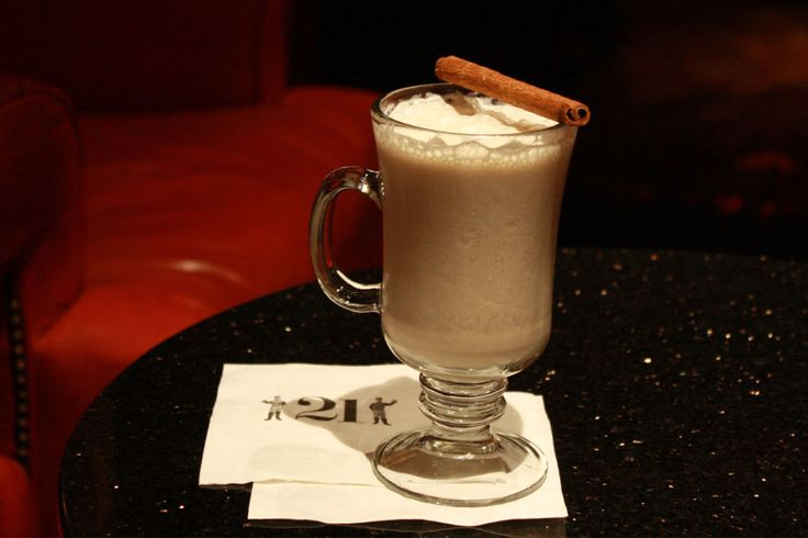 '21's Egg Nog cocktail will liven up the holiday season.