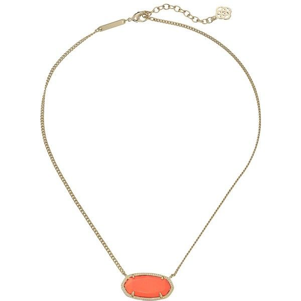 Kendra Scott Dylan Necklace, Orange ($43) ❤ liked on Polyvore featuring jewelry, necklaces, orange, adjustable necklace, 14k chain necklace, 14k jewelry, pendants & necklaces and kendra scott jewelry