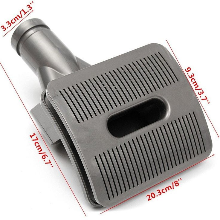 Pet Vacuum Cleaner Head - Removes Hair, Allergens and Dead Skin Cells