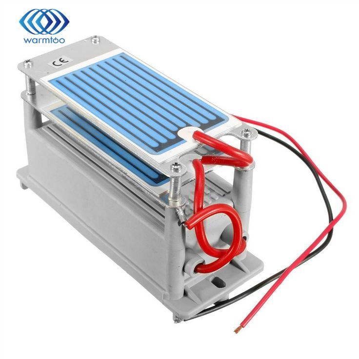 50W 220V Ozone Generator 7g/h with Ceramic Plate Long Life Style Longevity Double Sheet For Chemical Factory