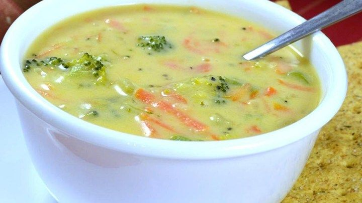 Enjoy your favorite restaurant's broccoli Cheddar soup any time with this delicious recipe!
