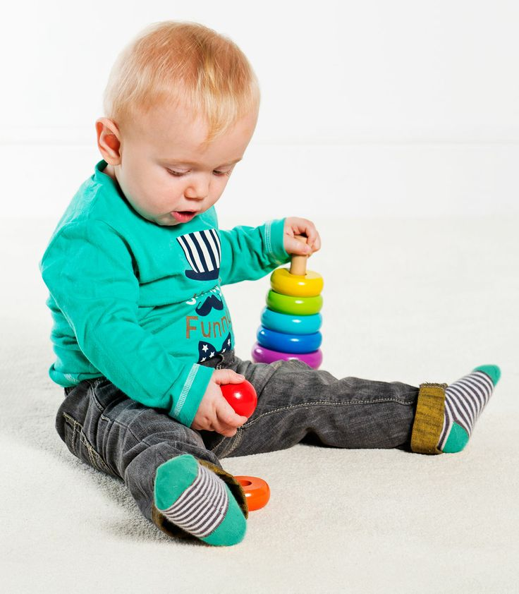 Buzzing Brains Wooden Stacker | Kiddicare