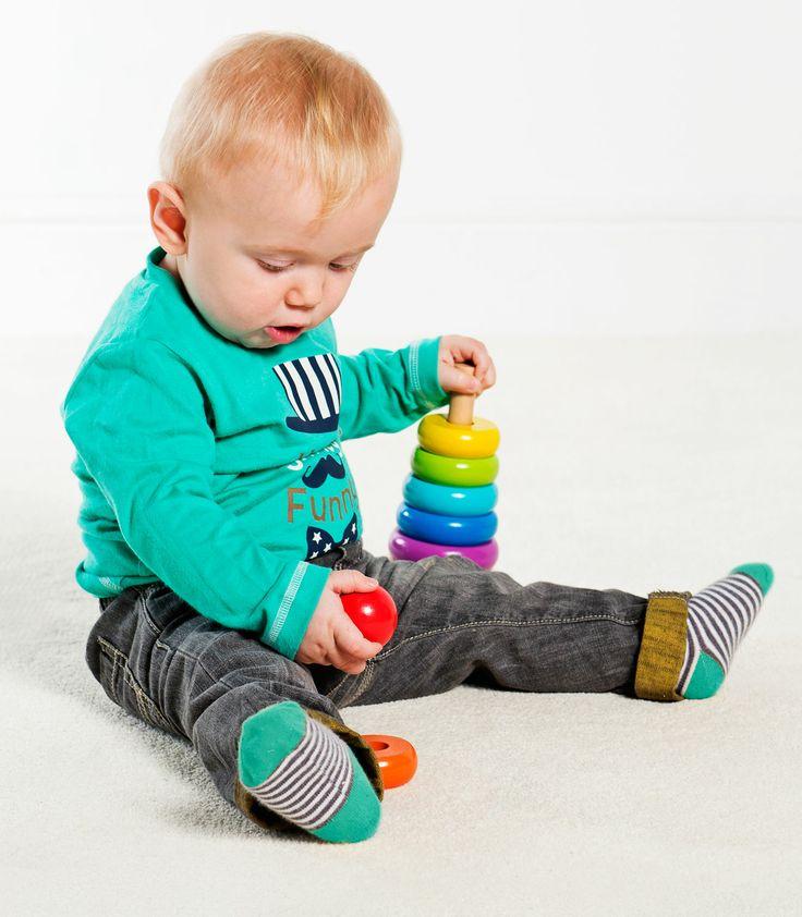 Buzzing Brains Wooden Stacker | Kiddicare: 12 Months, Buzz Brain, Baby Weaver, Wooden Stacker, Wooden Toys, Brain Toys, Brain Wooden, Lollipops Lane, Online