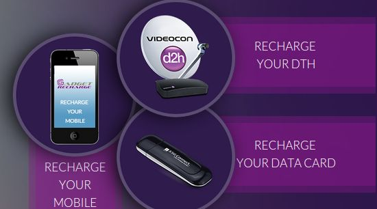 If you are searching a best website for online mobile, data card and DTH recharge , Gadget recharge is the best option for you.