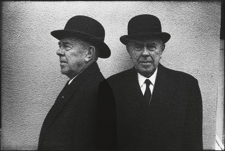 René Magritte, 1965 -by Duane Michals     from swanngalleries