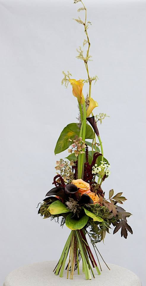 Flower design school of Rita Garaissils (Riga), student work (Kiev)