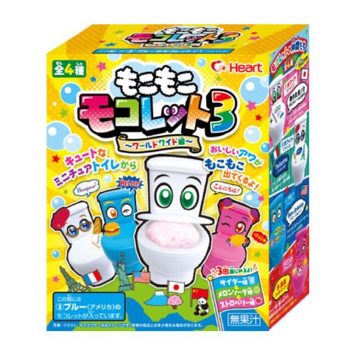 Heart Japan Moko-Moko-Mokolet Toilet candy kit http://ebay.to/1Nw28vu