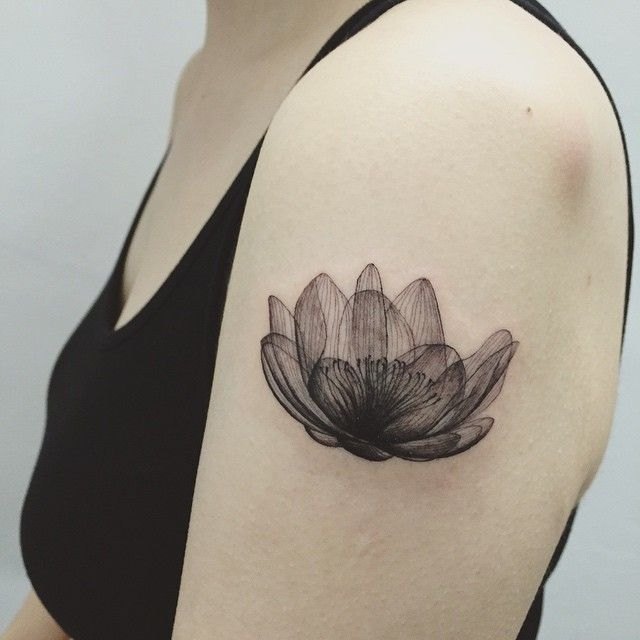 Perfect Tatto ...totally in love with it! By this amazing artist…                                                                                                                                                     More