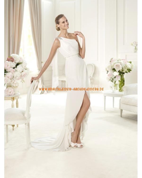 2013 Extravagante sexy Brautkleider im Meerjungfrauenstil aus Chiffon ...