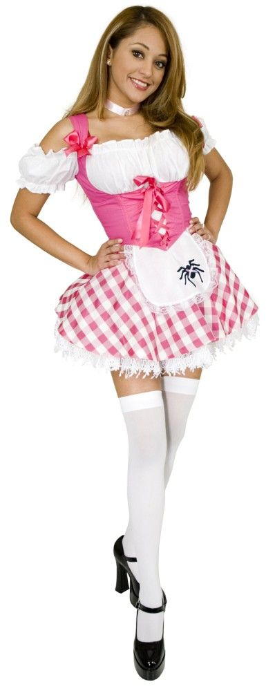 swiss miss costume plus size | Plus Size Little Miss Muffet Costume | Fierce Costumes www.fiercecostumes.