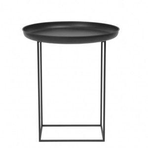 Kávový stolek Duke Small 52x45 cm, černý