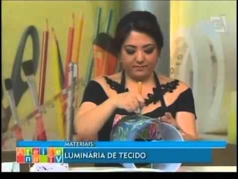 Ateliê na TV - Tv Gazeta - 20.10.14 - Mayumi Takushi