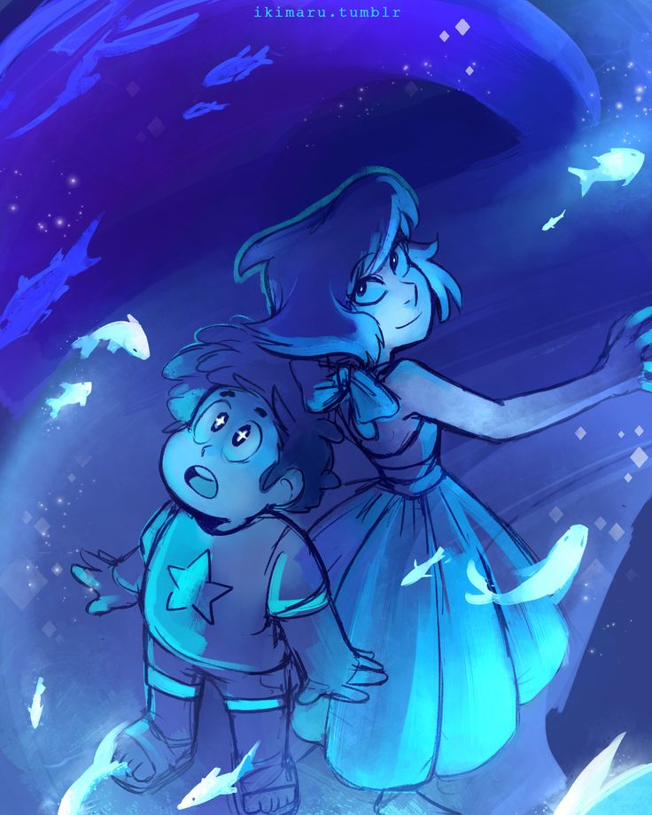 """when you impress Steven with your fish-bending"""