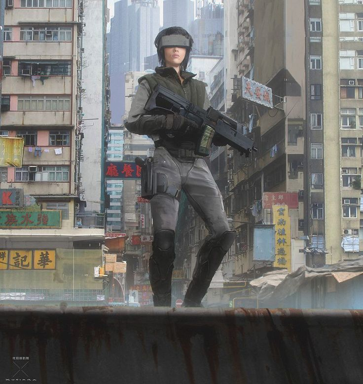 Say what you will about the new Ghost in the Shell as a movie, one thing I think we can all agree on is that it looks absolutely stunning. So let's check out some of the concept art work that went into creating the film's look.