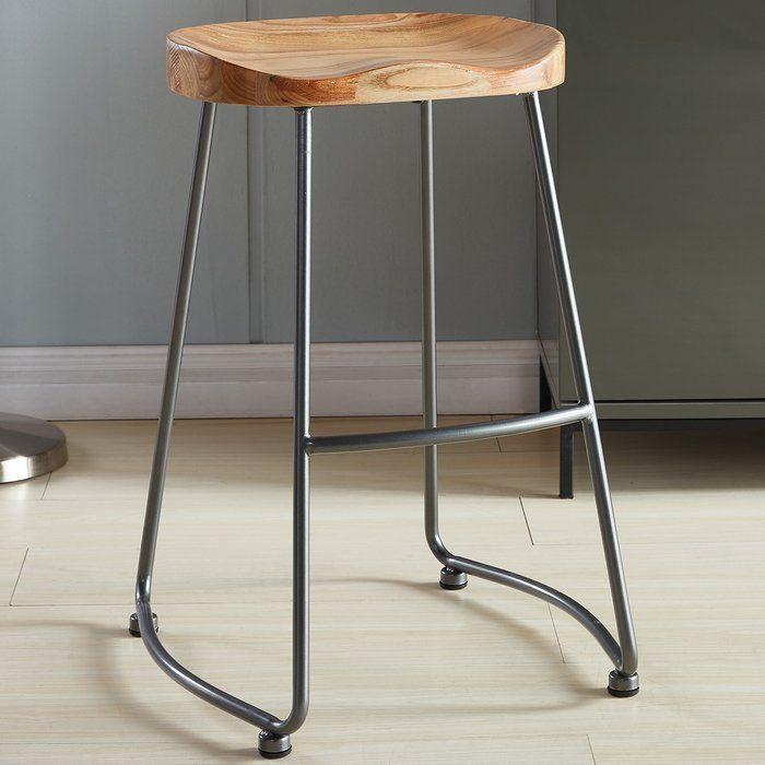 Brookshire Solid Wood Metal Counter Stool Set Metal Wood Bar Stool Metal Counter Stools Counter Stools
