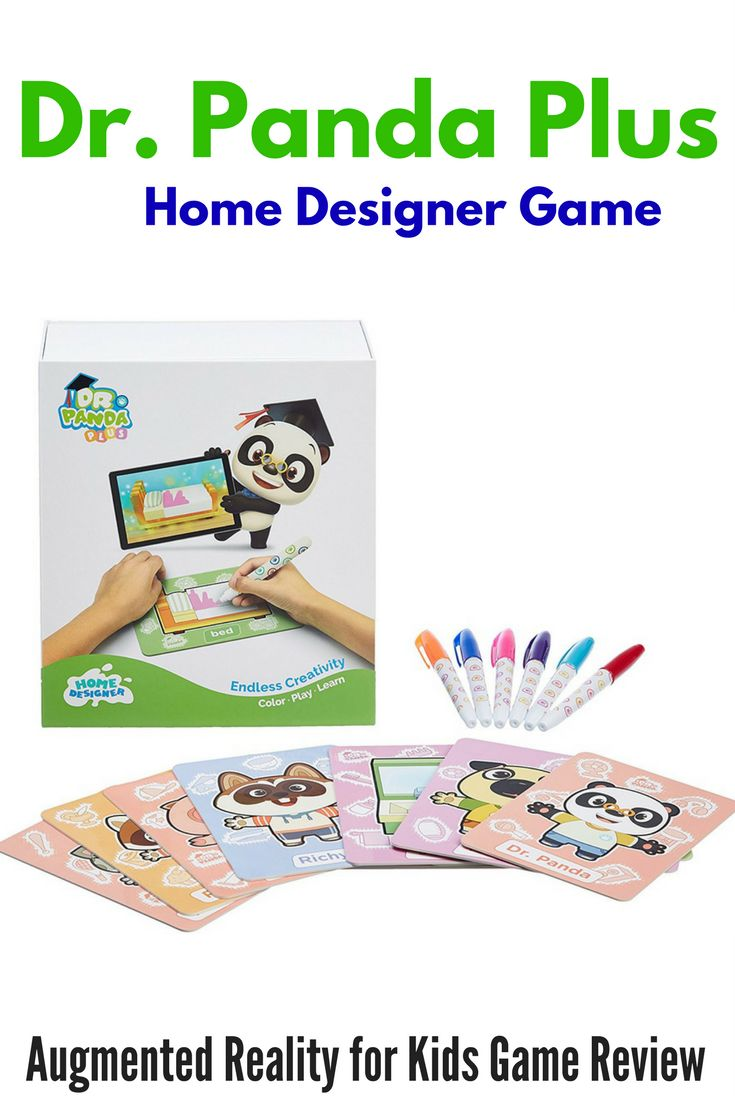 Dr. Panda Plus Home Designer: Augmented Reality for Kids Game Review