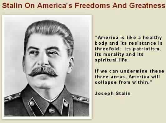 Pay attention people. This barbaric murderer sounds like the political coach for American Progressives.