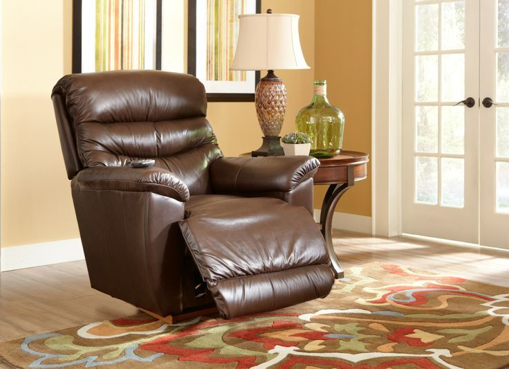 ... recliner with PowerReclineXR has mastered every rocking position